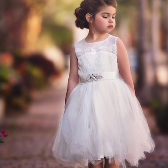 a08063d0ee0 NWT Trish Scully flower girl dress